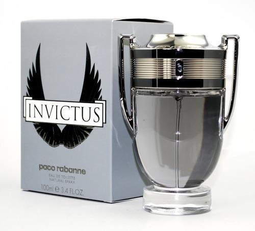Perfume Loción Invictus Paco Rabanne Ho - mL a $800