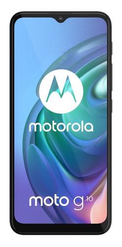 Smartphone Motorola Moto G10 Tl6.5 64gb 4gb Ram Cinza Aurora