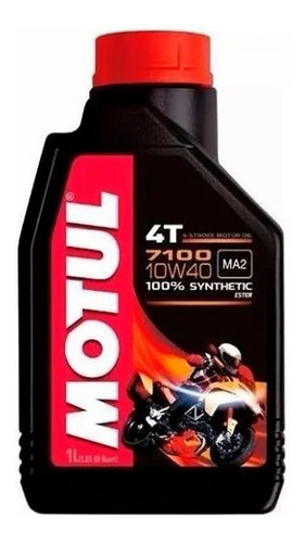 Kit Aceite Motul 7100 4t 10w40 100% Sintetico Pb Bikes