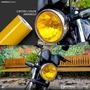 Adesivo Película Amarela Lanterna / Farol / Milha 1m X 53cm