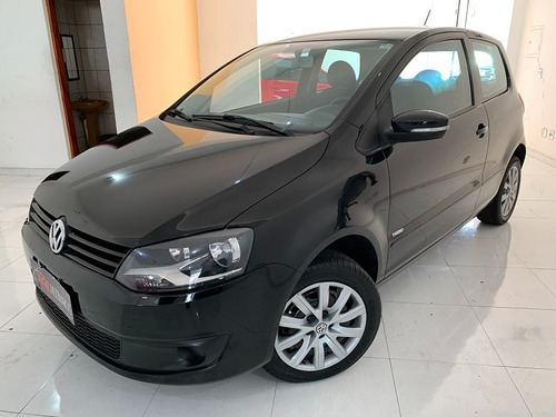Volkswagen Fox 1.0 Completo Único Dono 2012 Preta 2p