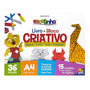 Livro Bloco Criativo (origami)