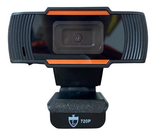 Webcam Para Pc Notebook Usb Câmera Full Hd 720p C/ Microfone
