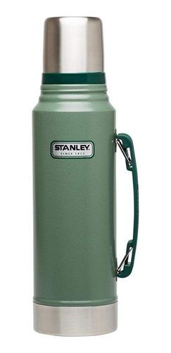 Termo Stanley Classic Vacuum Bottle 1.1 Qt De Acero Inoxidable Hammertone Green