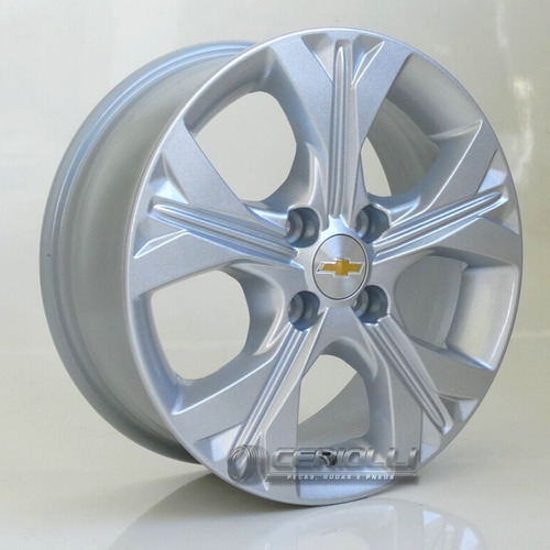 Jogo De Rodas Chevrolet Aro 14 Gm Onix Lt Ltz Turbo Bico
