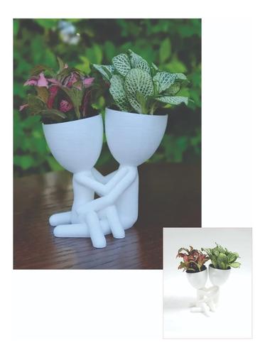Vaso Decorativo Dia Dos Namorados Robert Plantas Suculentas