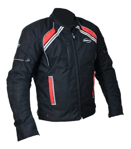 Jaqueta Motoqueiro Helt Stroke 100% Impermeável C/ Proteção