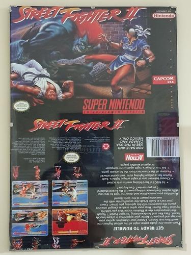 Street Fighter Snes Cuadro Retro Vintage Coleccion 70x50 Xl