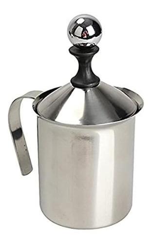 Lmell 800ml Aço Inoxidável Milk Frother Double Mesh