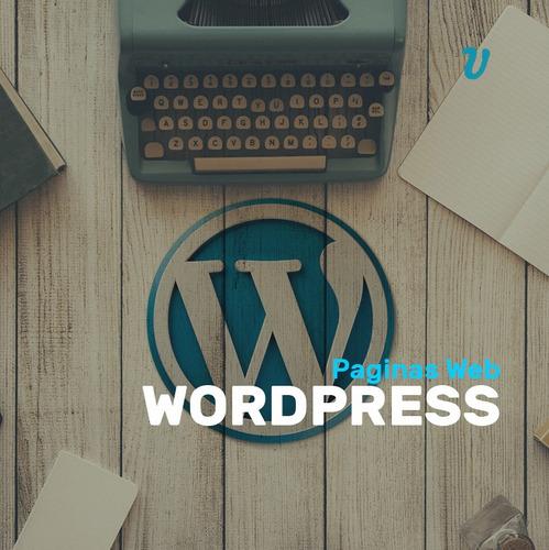 Diseño Pagina Web Wordpress Autoadministrable Diseño Web