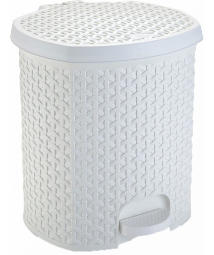 Lixeira Cesto Lixo 15l Banheiro Quintal Cozinha C/ Pedal