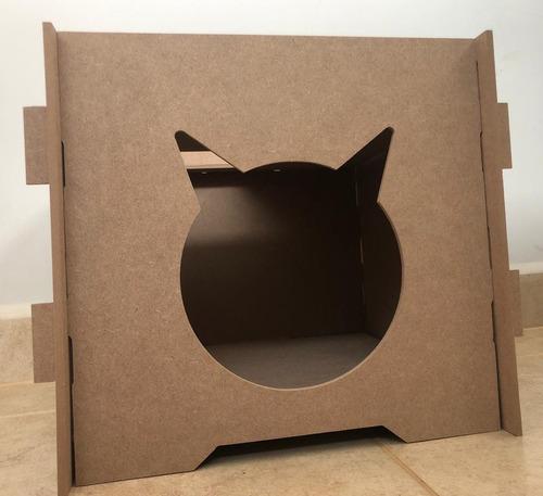 Casa Gato Casinha Cama Toca De Gato Com Encaixes + Brinde