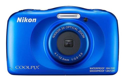 Camera Nikon Coolpix W150 Azul