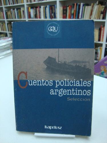 Cuentos Policiales Argentinos - Golu