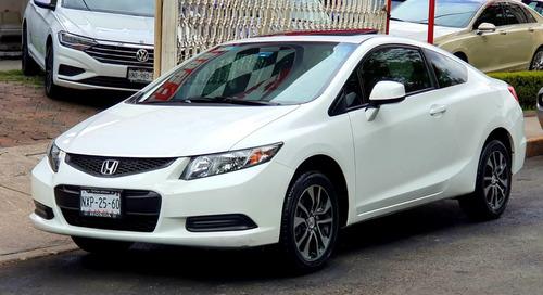 Honda Civic 2013 Coupe Tm5 Factura De Agencia Impacable!!