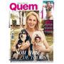Revista Quem 853/17 Ana Hieckmann/ivete/madonna
