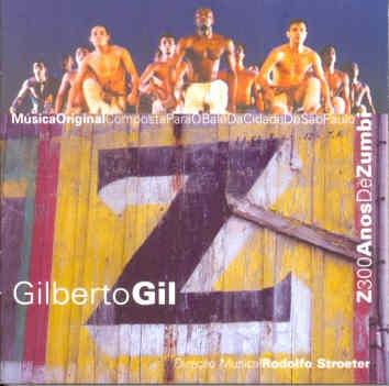 Cd Gilberto Gil - Z - 1995 Original