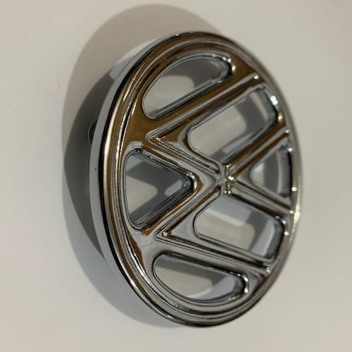 Emblema Vw Do Capô Do Fusca, Peça De Aluminio Fundido Cromo