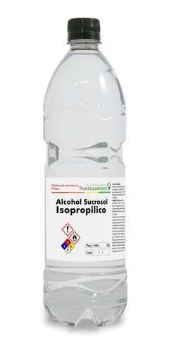 Alcohol Isopropilico 99.5% 1 Lt.