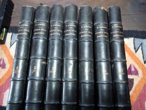 Derecho Civil Baldomero Llerena Edicion Completa Año 1887