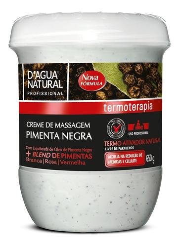 Creme Pimenta Negra  Dagua Natural - 650g