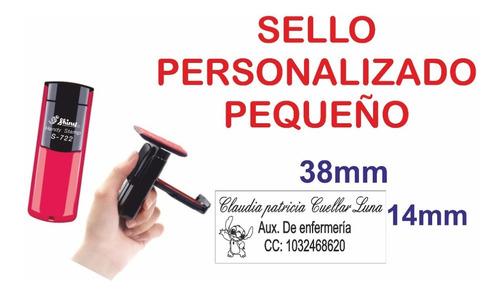 Sello Personalizado De Bolsillo S-722 Economico