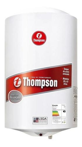 Termotanque Calefon Thompson  60 Litros Acero Ef A