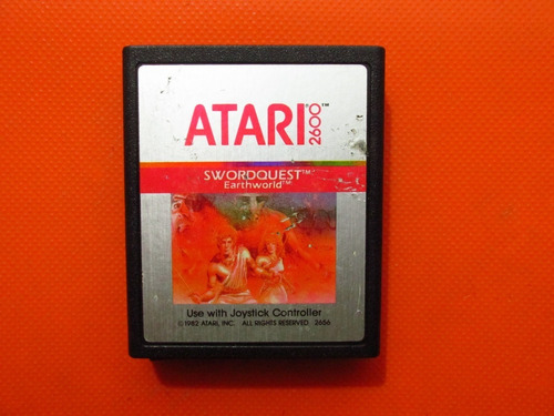 Swordquest Earthworld Original Atari 2600