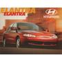 Folder Catálogo Folheto Prospecto Hyundai Elantra (hy020)