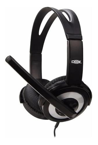 Fone Usb Headset Stereo Pc Ps3 Xbox Notebook C/botão Mute