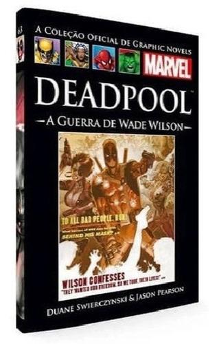 Coleção Oficial De Graphic Novels Hq Marvel Capa Dura