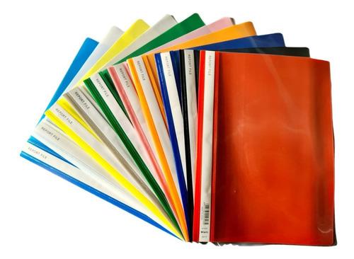 Carpeta Con Tapa Transparente Tamaño A4 Pack X 12   Samergo