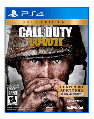 Call Of Duty: Wwii Gold Juego Físico Playstation4 + Regalo