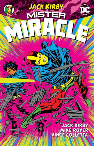 Mister Miracle By Jack Kirby Tpb - Dc Comics - Robot Negro