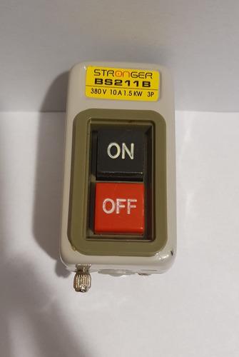 Interruptor De Boton De Encendido Monofasico Ó Trifasico 10a