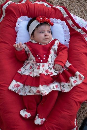 Saída Maternidade Menina Anny 5 Peças Cor 3