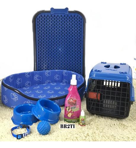 Caminha Kit Cachorro Cama Transporte Xixi Sim/não Completo