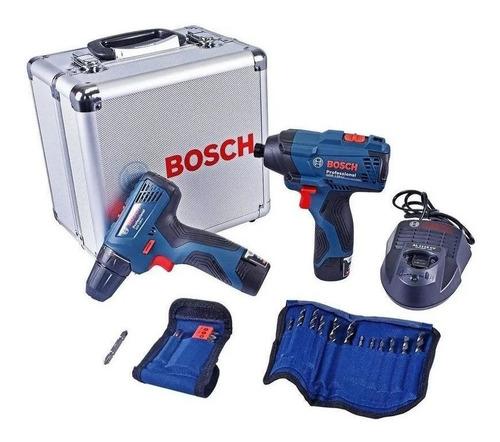 Parafusadeira Gsr120-li E Chave Impacto Gdr120-li 12v Bosch
