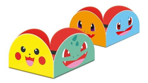 Porta Forma Para Doces Pokémon - Junco 50 Unidades