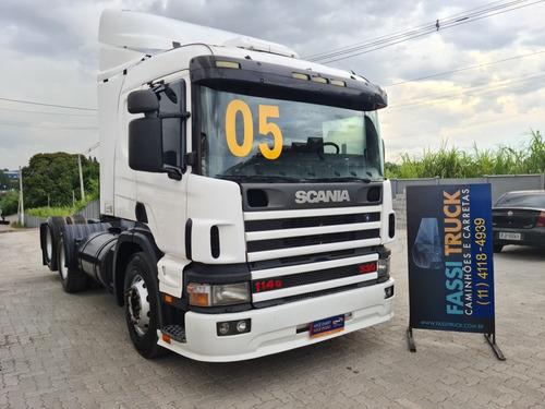 Scania P 114 330 6x2 Ano 2005 = P 340 360 - Fassitruck