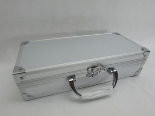Conjunto Mini Golf P/escritorio Maleta De Aluminio/