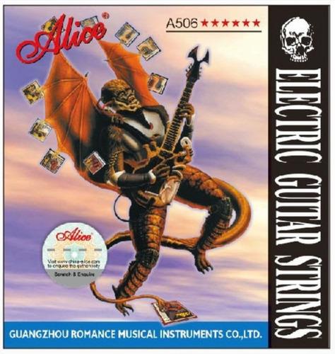 Cuerdas Guitarra Eléctrica Alice 09