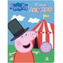 Livro Peppa Pig Quebra cabeça O Circo Animado