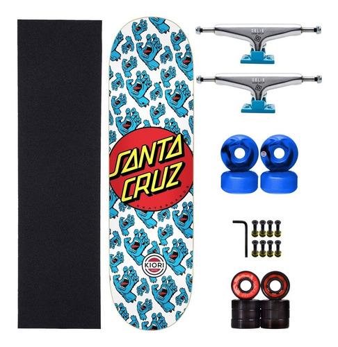 Skate Completo Profissional Santa Cruz Series Nova