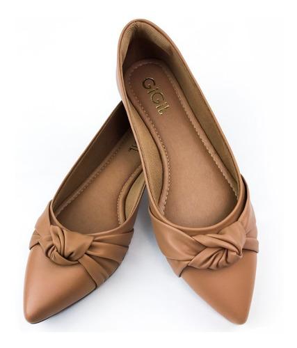 Sapatilha Feminina Sandalia Rasteirinha Sapato Conforto G10