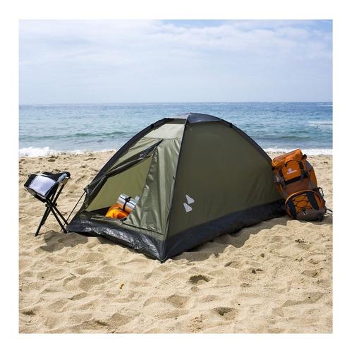 Carpa Iglú Dome 2 Personas  Klimber Original Playa Camping