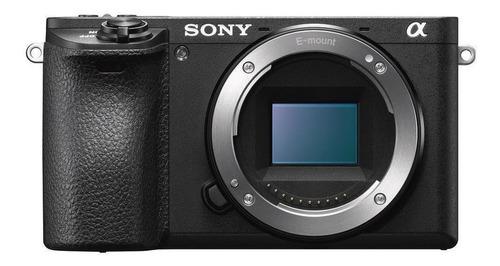 Sony Alpha 6400 Sin Espejo Color  Negro