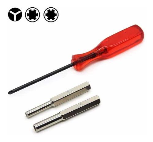 Kit Destornillador Triwing Más Puntas 3.8 Y 4.5 Snes N64 Ngc