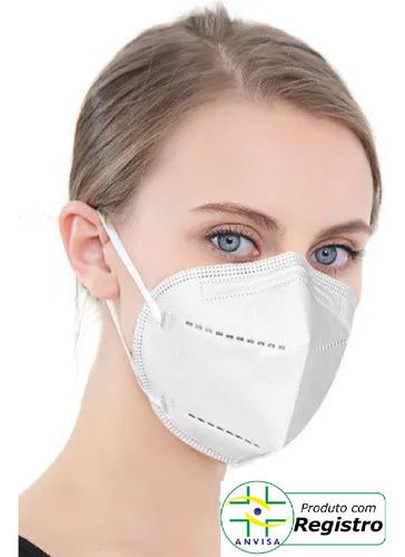 Máscara N95/pff2 Elástico Orelha Caithec - Kit C/10 Unidades