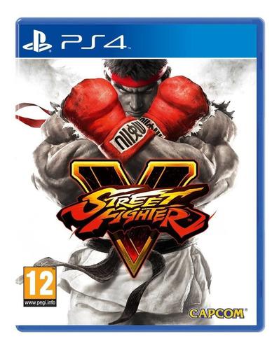 Street Fighter V 5 Juego Ps4 Oferta